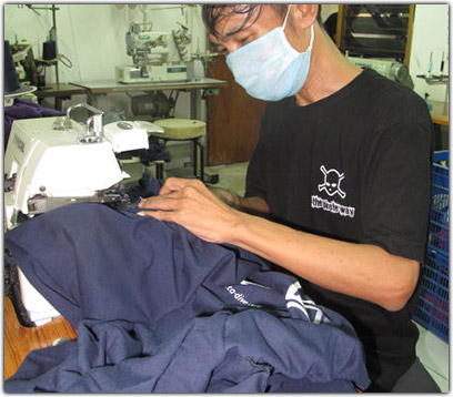 a02366e2 Own Custom T-shirts Singlets Production and Printing in Kuta Bali ...