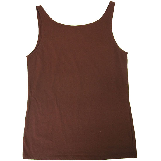 (L08G) Lady Singlet Basic Style, Fabric color (3114) Cinamon