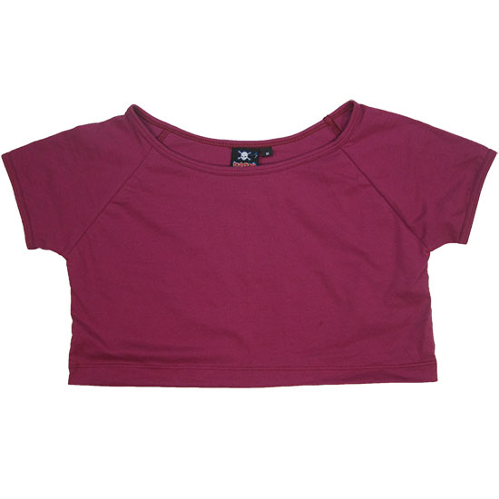 (L16G) Lady Mini T-shirt Style, Fabric color (3121) Plum