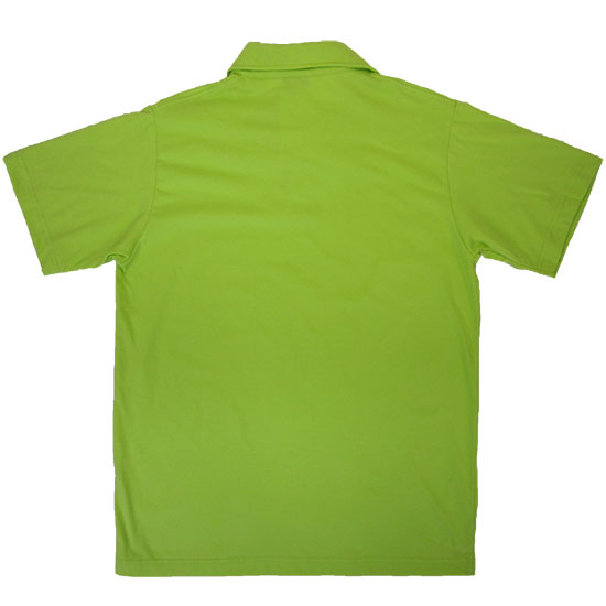The gallery for green polo shirt back for Mint color polo shirt